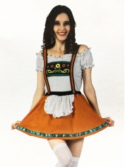 Alpine Girl - Oktoberfest Costumes